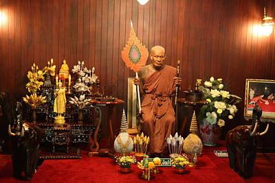 Wat Chalong - Phuket Thailand - 01135 Print by DC Photographer