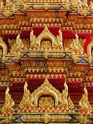 Photograph - Wat Chalong by Ramona Johnston
