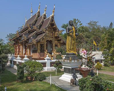 Photograph - Wat Chedi Liem Phra Ubosot Dthcm0831 by Gerry Gantt