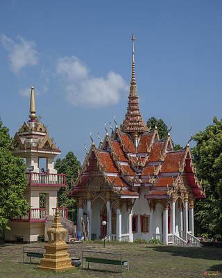Photograph - Wat Ket Ho Wihan And Bell Tower Dthp0616 by Gerry Gantt