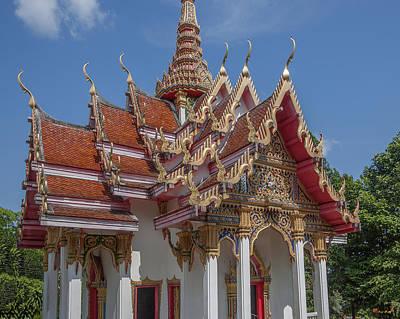 Photograph - Wat Ket Ho Wihan Gables Dthp0617 by Gerry Gantt