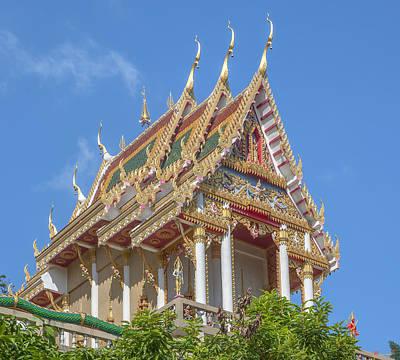 Photograph - Wat Khao Rang Ubosot Dthp0548 by Gerry Gantt