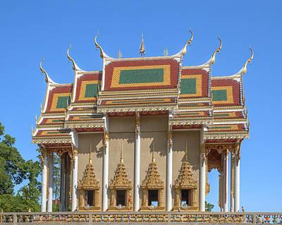 Photograph - Wat Khao Rang Ubosot Dthp0552 by Gerry Gantt