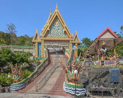 Photograph - Wat Khao Rang Ubosot Gate Dthp0541 by Gerry Gantt
