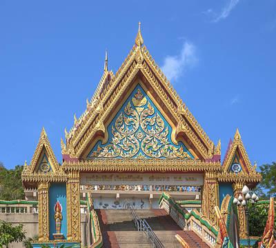 Photograph - Wat Khao Rang Ubosot Gate Dthp0546 by Gerry Gantt
