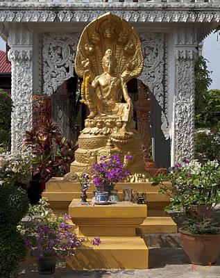Photograph - Wat Luang Buddha Image Dthu029 by Gerry Gantt