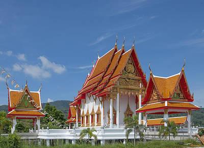 Photograph - Wat Luang Pu Supa Ubosot Dthp323 by Gerry Gantt