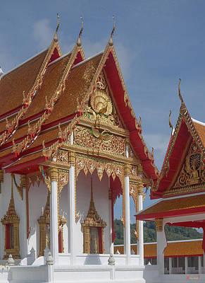 Photograph - Wat Luang Pu Supa Ubosot Dthp327 by Gerry Gantt
