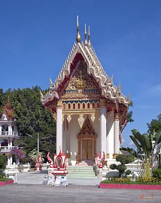 Photograph - Wat Mahawanaram Ubosot Dthu652 by Gerry Gantt