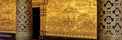 Wat Mai Luang Prabang Laos Art Print by Panoramic Images