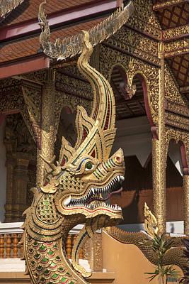Photograph - Wat Meuang Muang Phra Wiharn Naga  Dthcm0112 by Gerry Gantt