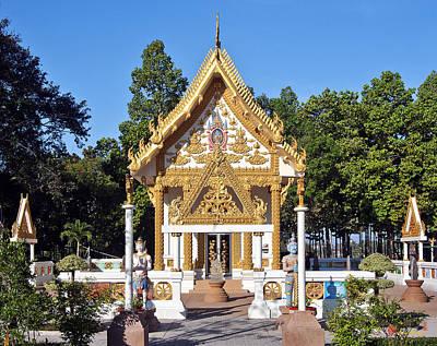 Photograph - Wat Mongkol Kowitharam Ubosot Dthu482 by Gerry Gantt