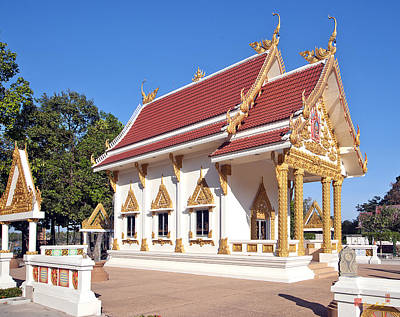 Photograph - Wat Mongkol Kowitharam Ubosot Dthu487 by Gerry Gantt