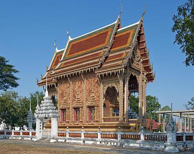 Photograph - Wat Na Kwai Ubosot Dthu439 by Gerry Gantt
