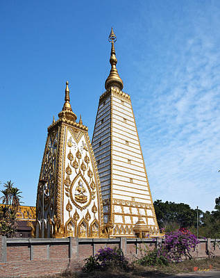 Photograph - Wat Nong Bua Buddhagaya-style Stupa Dthu144 by Gerry Gantt