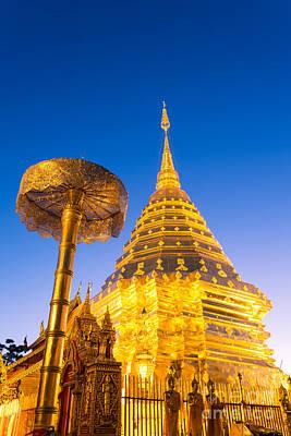 Wat Phra Doi Suthep - Chiang Mai - Thailand Art Print