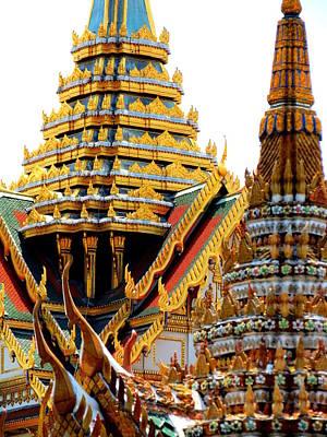 Photograph - Wat Phra Kaew by Ramona Johnston