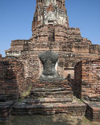 Photograph - Wat Phra Ram Buddha Image Torso Dtha0172 by Gerry Gantt