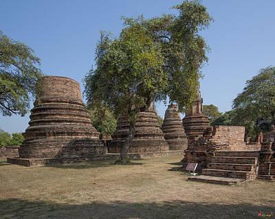 Photograph - Wat Phra Ram Chedi Ruins Dtha0178 by Gerry Gantt