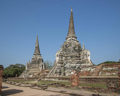 Photograph - Wat Phra Si Sanphet Chedi Dtha0025 by Gerry Gantt