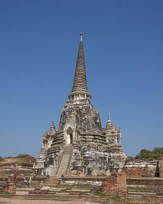 Photograph - Wat Phra Si Sanphet Chedi Dtha0026 by Gerry Gantt