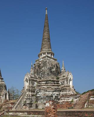 Photograph - Wat Phra Si Sanphet Chedi Dtha0031 by Gerry Gantt