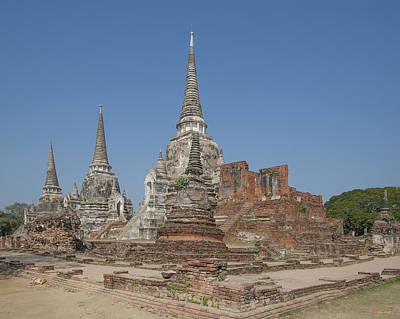 Photograph - Wat Phra Si Sanphet Chedis Dtha027 by Gerry Gantt
