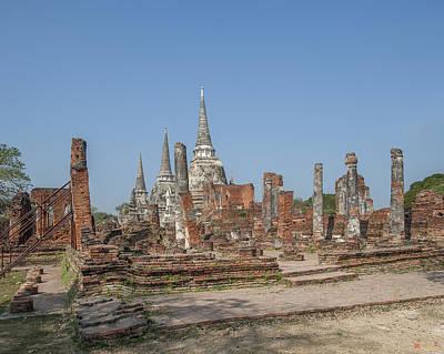 Photograph - Wat Phra Si Sanphet Wihan Phra Palelai Ruins Dtha0205 by Gerry Gantt