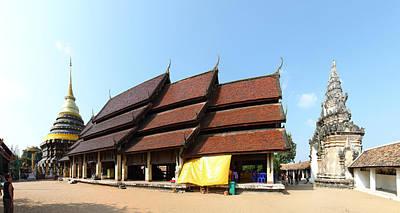 Wat Phra That Lampang Luang - Lampang Thailand - 01133 Art Print
