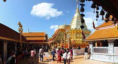 Phrathat Photograph - Wat Phrathat Doi Suthep - Chiang Mai Thailand - 011321 by DC Photographer