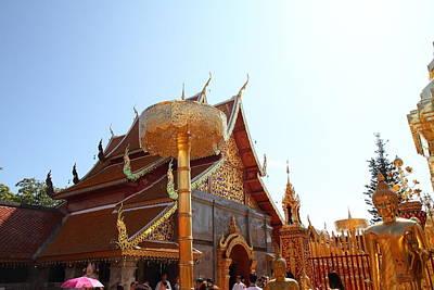 Phrathat Photograph - Wat Phrathat Doi Suthep - Chiang Mai Thailand - 011325 by DC Photographer