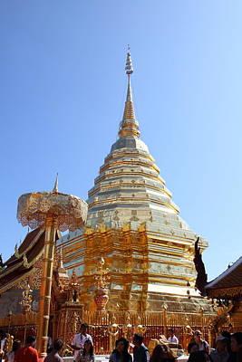 Phrathat Photograph - Wat Phrathat Doi Suthep - Chiang Mai Thailand - 011327 by DC Photographer