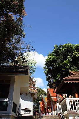 Phrathat Photograph - Wat Phrathat Doi Suthep - Chiang Mai Thailand - 011333 by DC Photographer