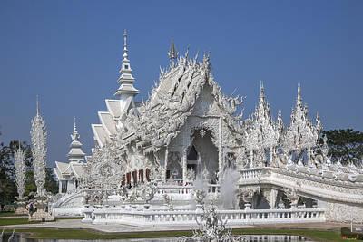 Photograph - Wat Rong Khun Ubosot Dthcr0004 by Gerry Gantt