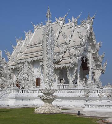 Photograph - Wat Rong Khun Ubosot Dthcr0045 by Gerry Gantt