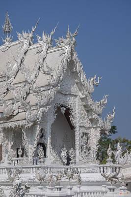 Photograph - Wat Rong Khun Ubosot Dthcr0046 by Gerry Gantt