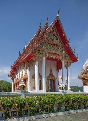 Photograph - Wat Sapum Thammaram Ubosot Dthp222 by Gerry Gantt