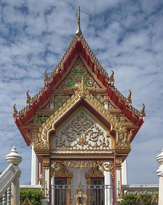 Photograph - Wat Sapum Thammaram Ubosot Gate Dthp229 by Gerry Gantt