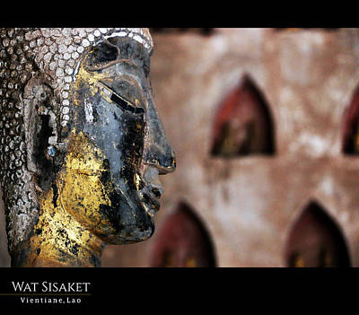 Photograph - Wat Sisaket Buddha Profile by Nola Lee Kelsey