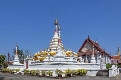 Photograph - Wat Songtham Phra Chedi Dthb1913 by Gerry Gantt