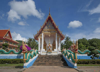 Photograph - Wat Suwan Khiri Khet Ubosot Dthp265 by Gerry Gantt