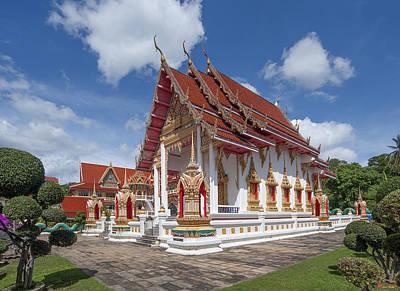 Photograph - Wat Suwan Khiri Khet Ubosot Dthp267 by Gerry Gantt