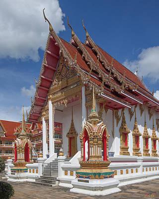 Photograph - Wat Suwan Khiri Khet Ubosot Dthp268 by Gerry Gantt