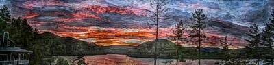 Watauga Lake Sunset Art Print