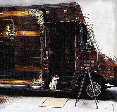 Steampunk Royalty-Free and Rights-Managed Images - Watch Dog by Lilliana Mendez