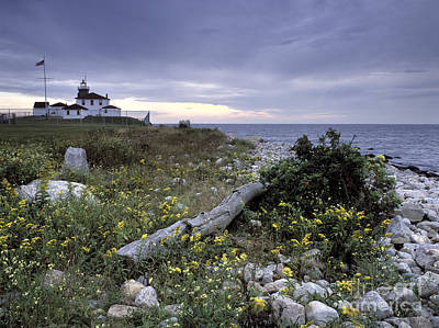 Photograph - Watch Hill Lighthouse - Fm000062 by Daniel Dempster