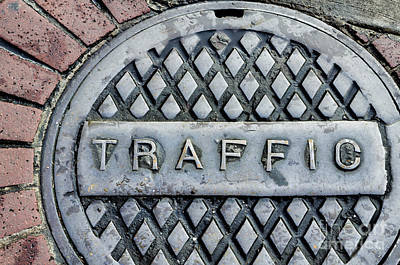 Photograph - Watch Out For The Traffic by Kathleen K Parker