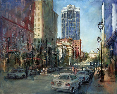 Watch Over Fayetteville Street Art Print