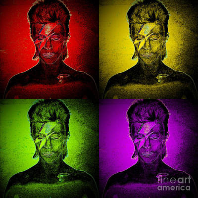 Digital Art - Watch That Man Part 2 by Wendy Wilton