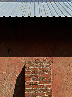 Metal Roof Photograph - Watch The Gap by Odd Jeppesen